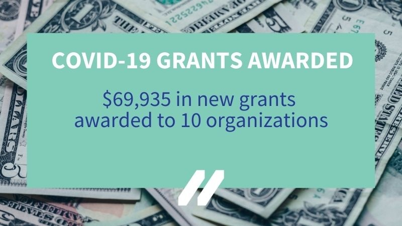 MCAN awards 10 additional COVID-19 Response Grants in 11th round of funding