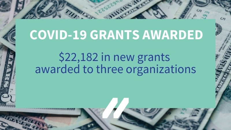 MCAN awards three additional  COVID-19 Response Grants in 14th round of funding