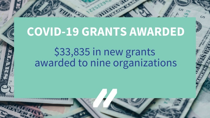 MCAN award nine additional COVID-19 Response Grants